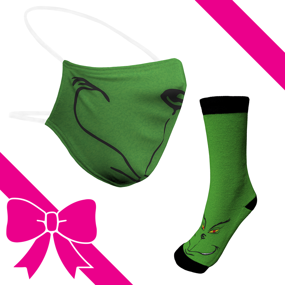 Green Monstr - BTH Mask+Socks Gift Pack