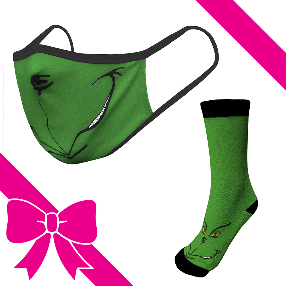 Green Monstr - OTE Mask+Socks Gift Pack