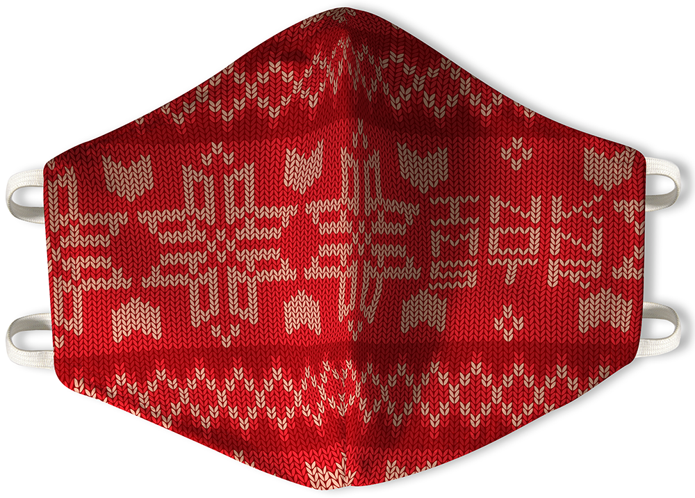 Knit Red - Mask