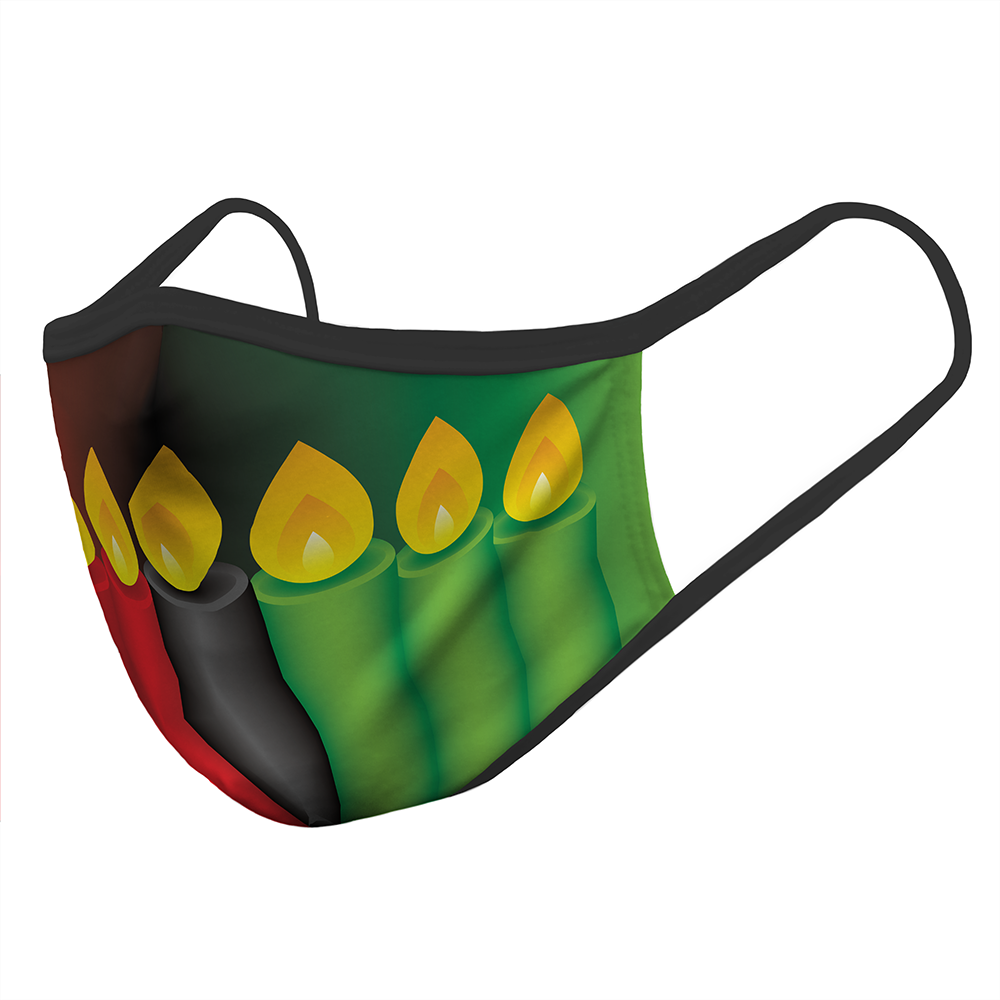 Kwanzaa Candles - Mask