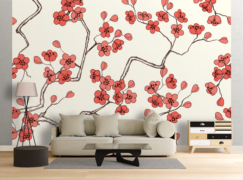 Cherry Blossom - Wall Mural