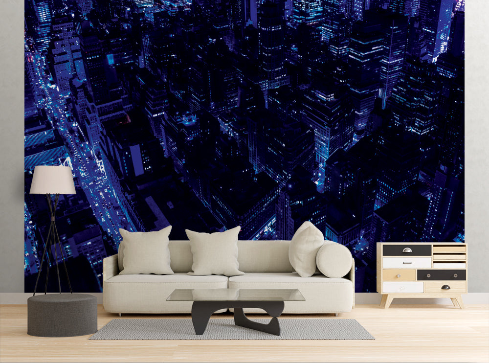 Blue City - Wall Mural