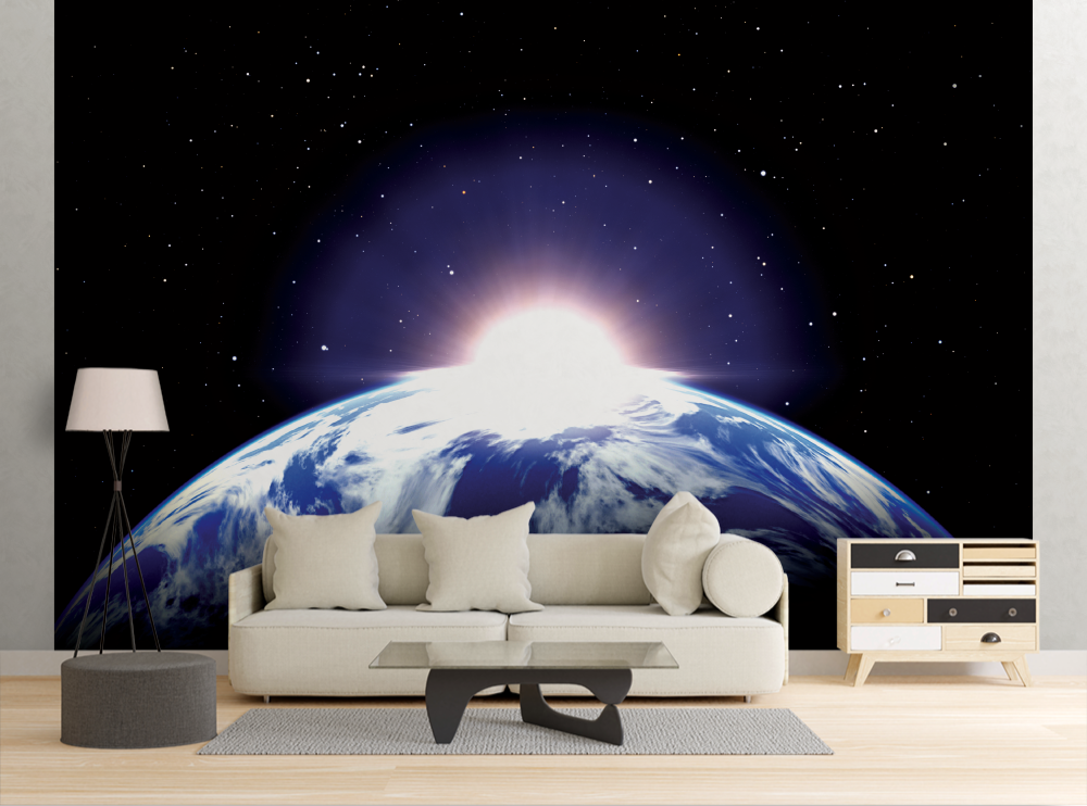Earth Sunrise - Wall Mural