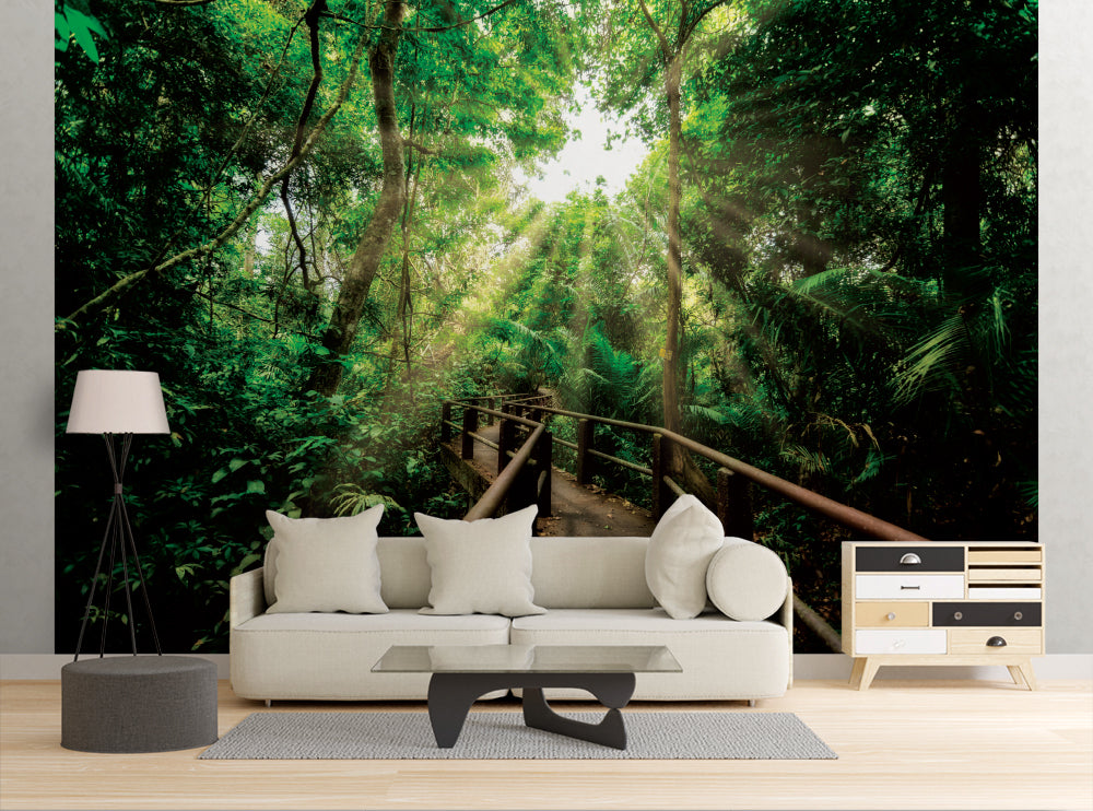 Forest Trail - Wall Mural