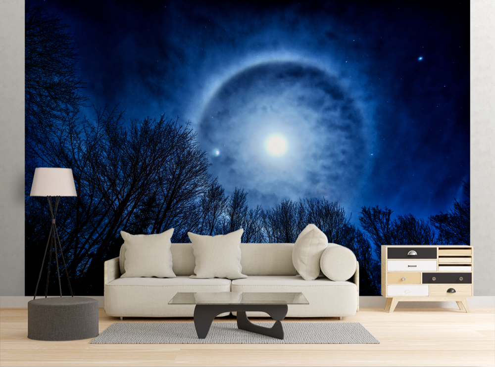 Moon Halo - Wall Mural