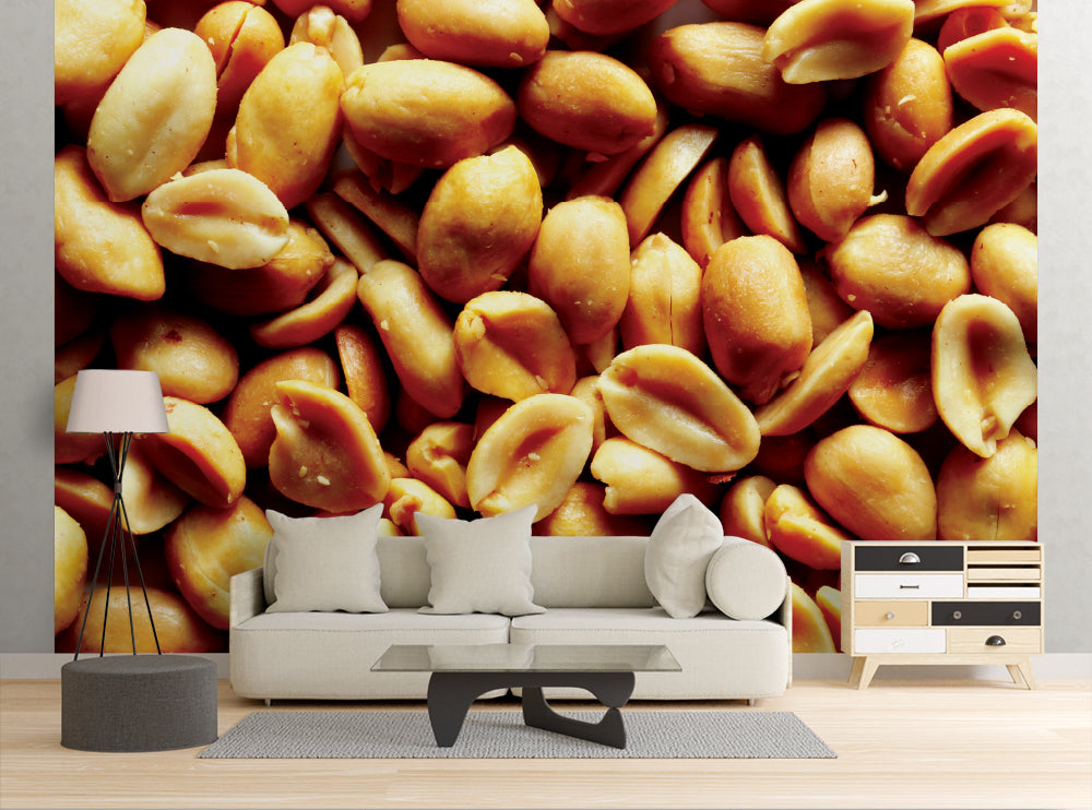 Roasted Peanuts - Wall Mural