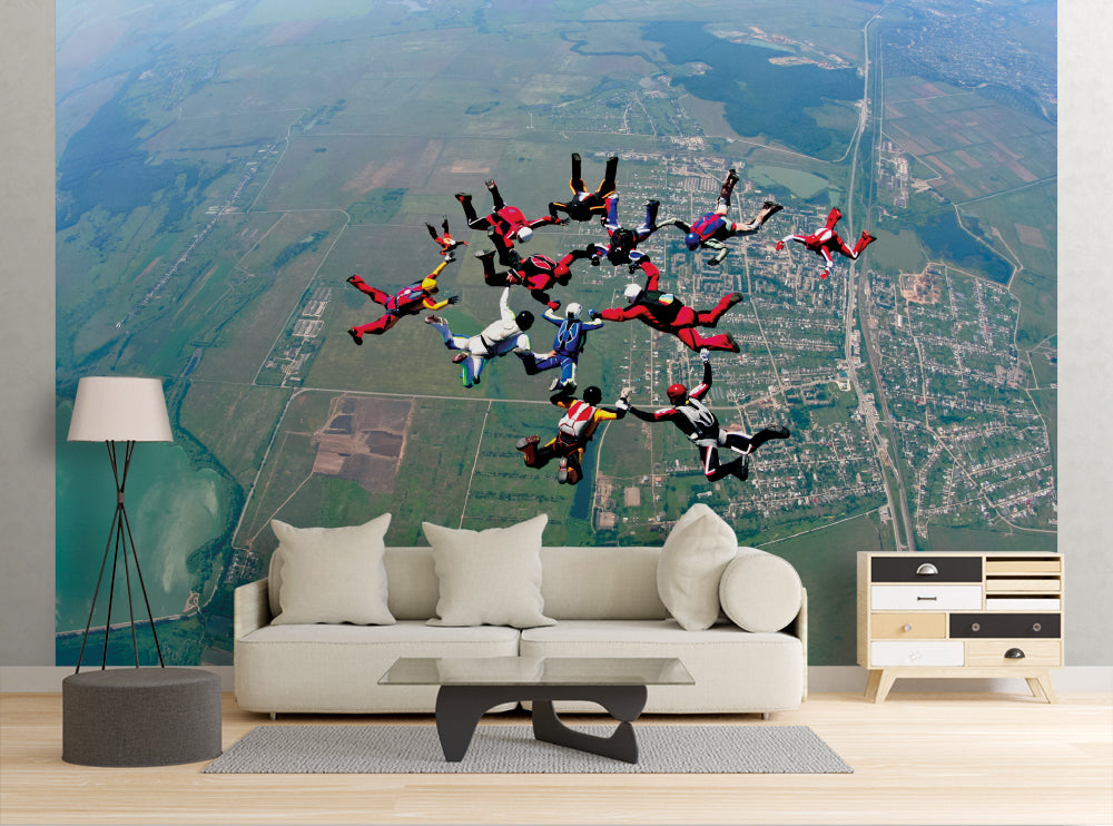 Skydiving - Wall Mural