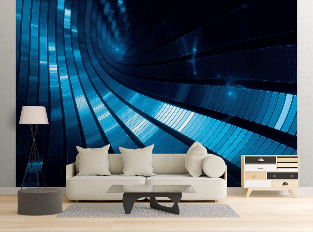 Space Paths - Wall Mural