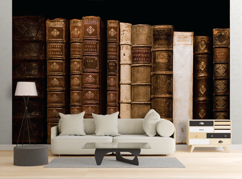 Vintage Books - Wall Mural