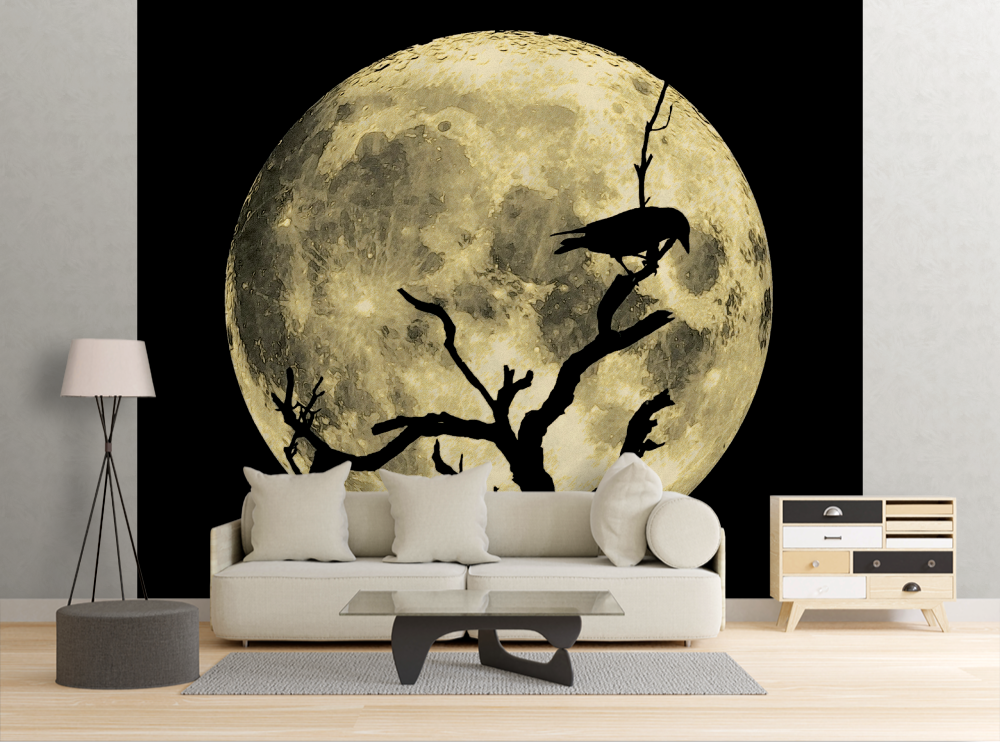 Crow Moon - Wall Mural