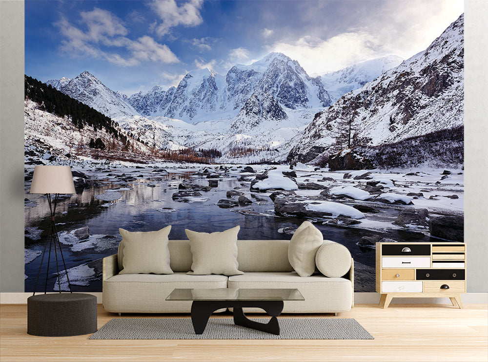 Mountain Stream - Wall Mural
