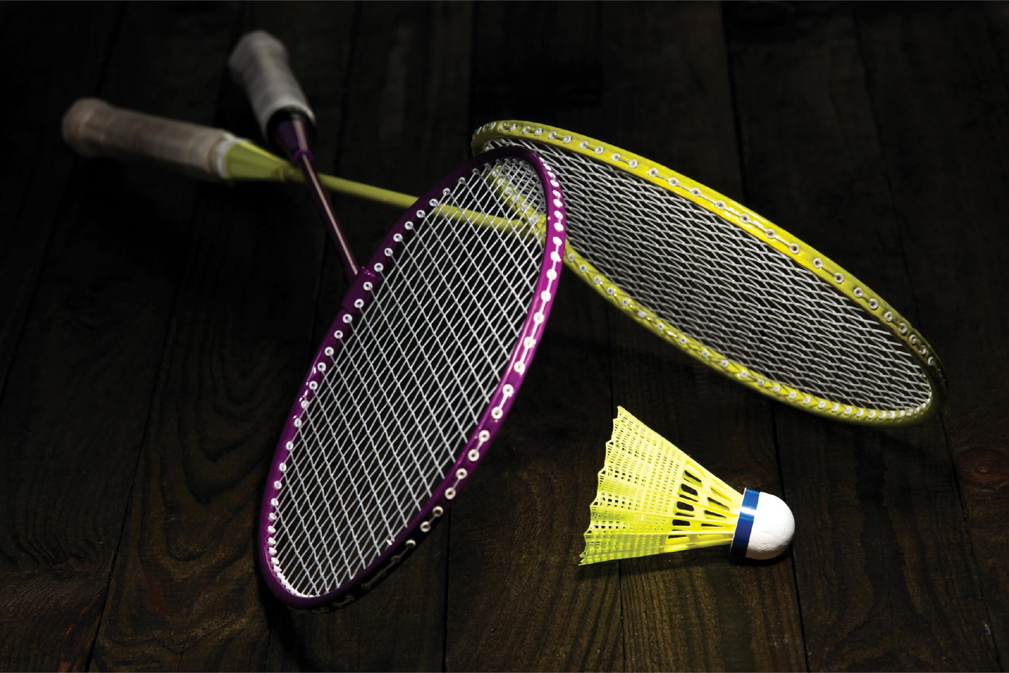 Badminton Rackets - Wall Mural