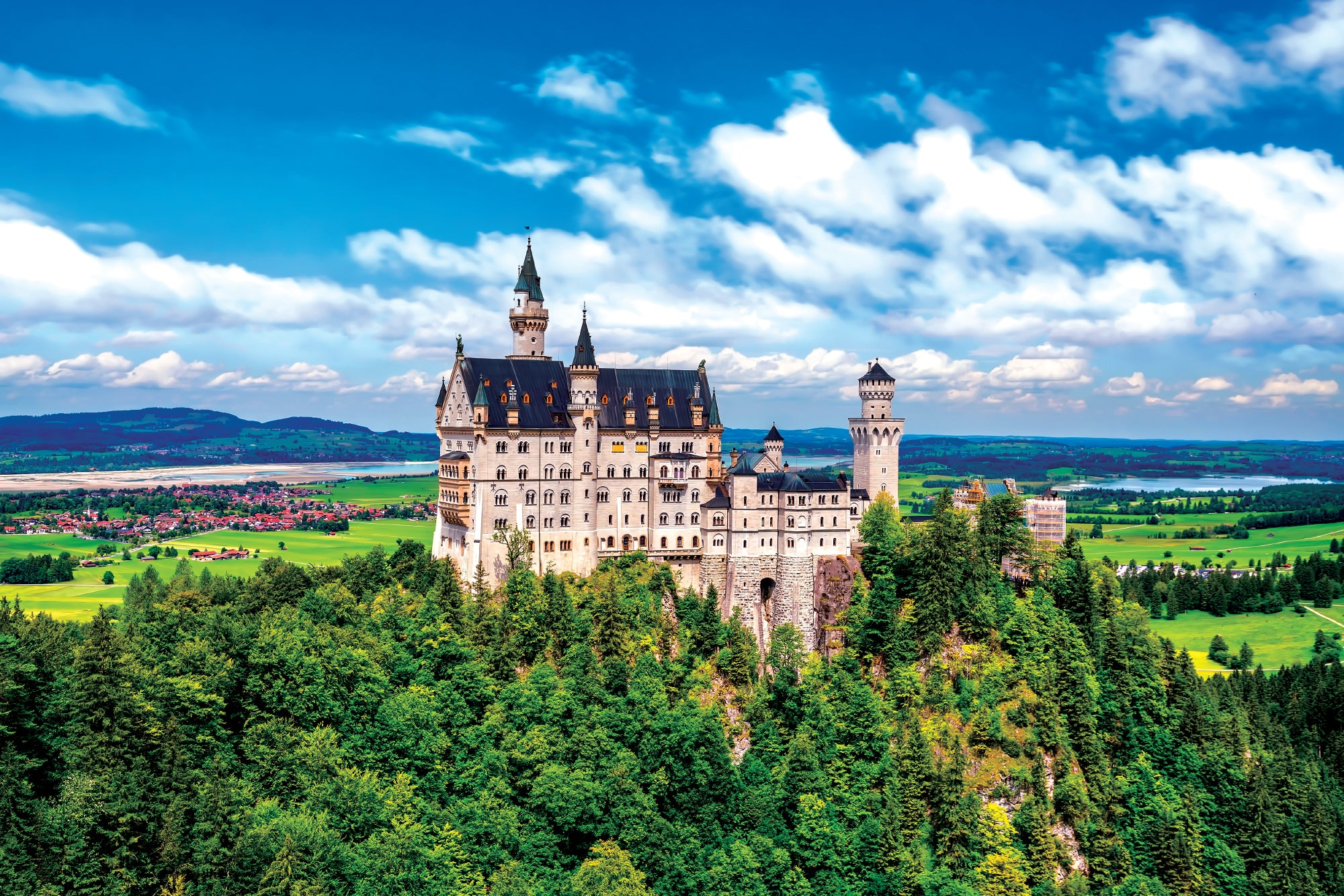 Neuschwanstein Castle - Wall Mural