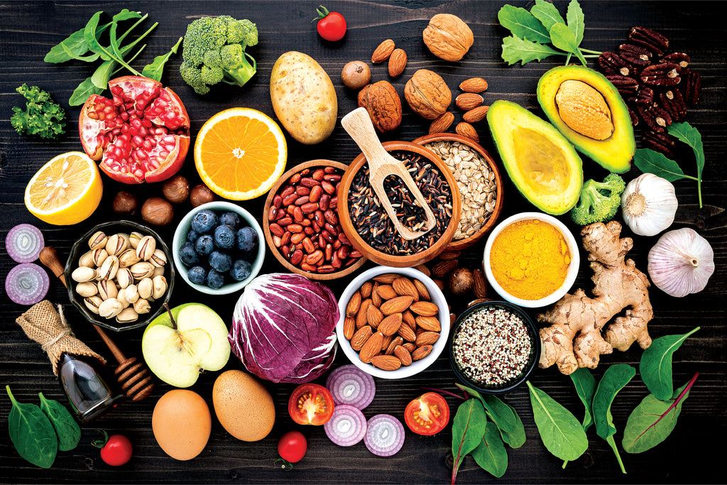 Healthy Foods - Wall Mural