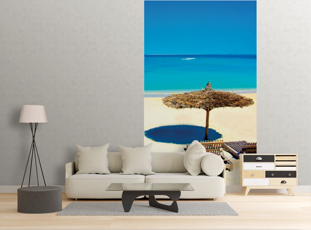 Beach Umbrella - Wall Mural