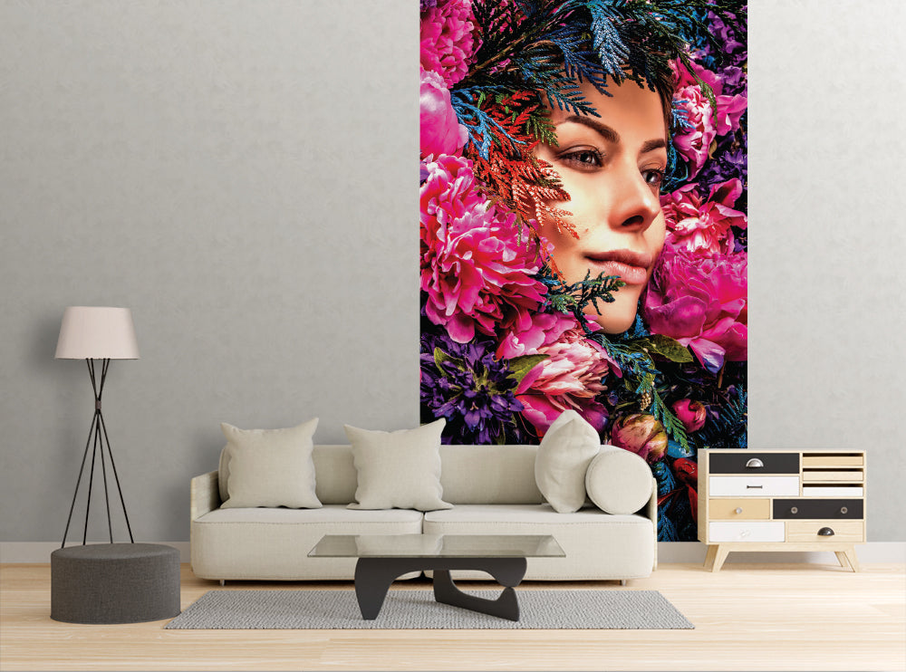 Fairy Face - Wall Mural