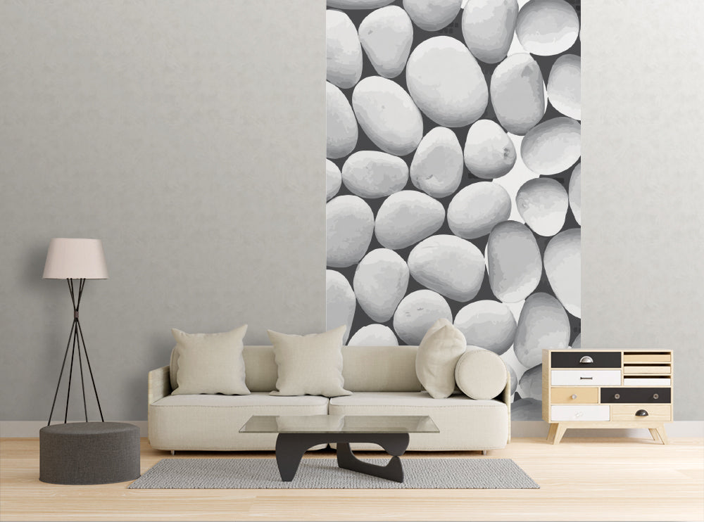 River Rocks - Wall Mural