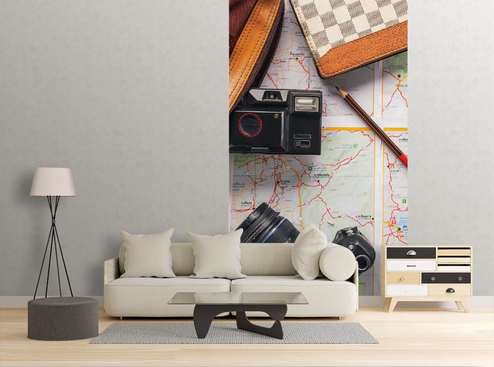 Travel Planning - Wall Mural