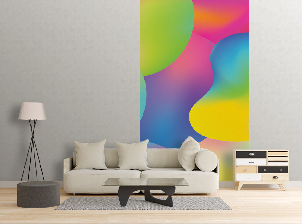 Vibrant Colors - Wall Mural