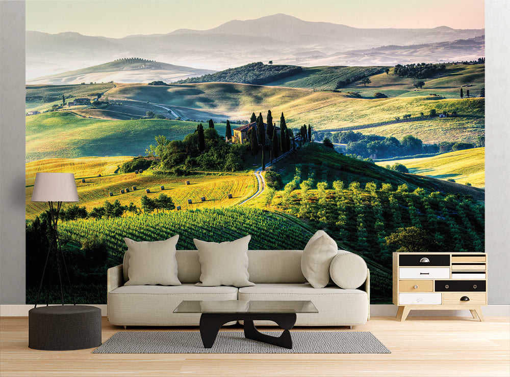 Verdant Valley - Wall Mural
