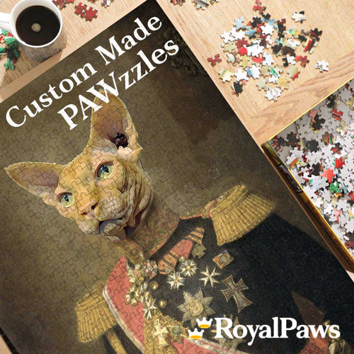 150 Piece Pawzzle (A3) - Royal Paws