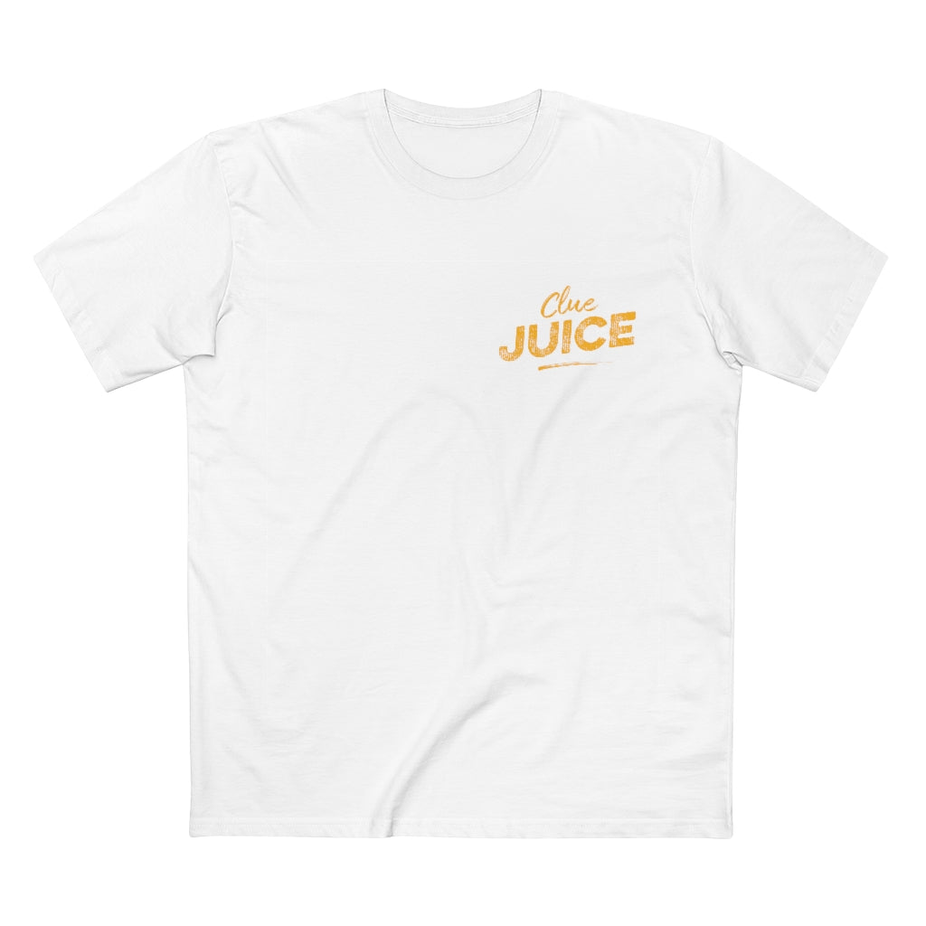 Clue Juice Official Tee - White