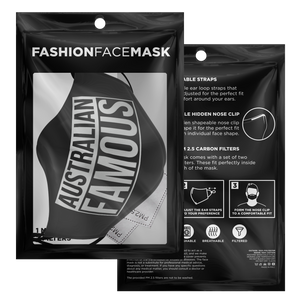 Clue Australian Famous 2.5 Carbon Filtered Mask