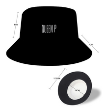 Load image into Gallery viewer, Queen P - Black Bucket Hat