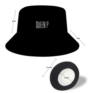 Queen P - Black Bucket Hat