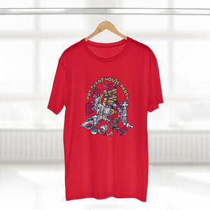 Pot Plant House Party - Unisex Red Tee