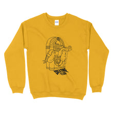 Load image into Gallery viewer, Creature Fear - Jukebox Boy Unisex Crewneck (5 Colours)