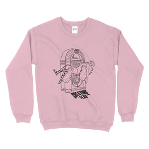 Creature Fear - Jukebox Girl Unisex Crewneck (5 Colours)