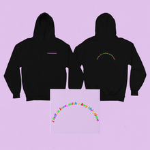 Load image into Gallery viewer, I fell in love with a boy Black Unisex Hoodie - Sarah Saint James