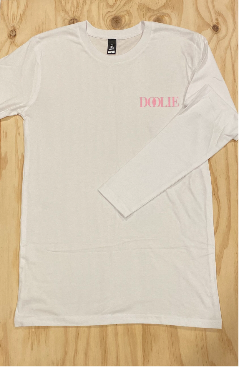 DOOLIE long sleeve T - white