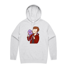 Load image into Gallery viewer, Clue & PachiSquid Hoodie - Grey