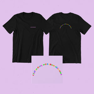 I fell in love with them Black Unisex Tee - Sarah Saint James