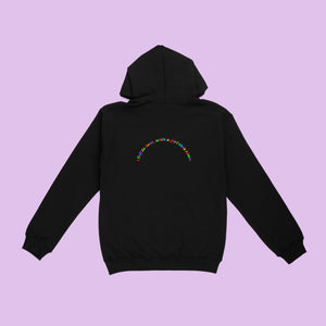 I fell in love with a girl Black Unisex Hoodie - Sarah Saint James