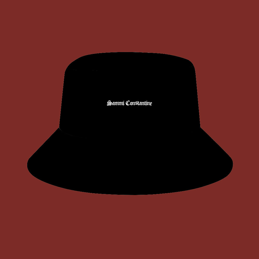 Sammi Constantine - Black Bucket Hat
