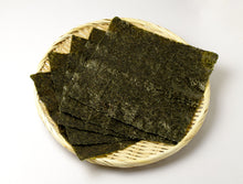 Load image into Gallery viewer, Nori Homare Premium, Dry Seaweed (Half Cut) 100pc/pk