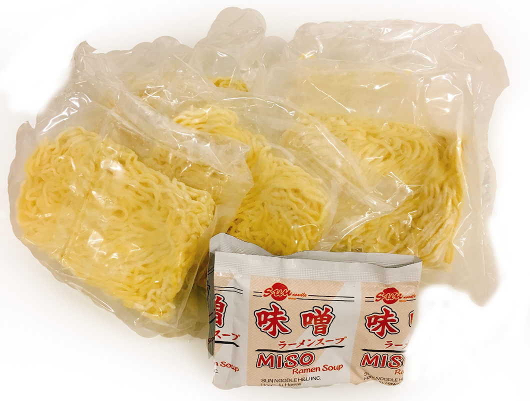 Ramen Noodle with Soup (Miso Base) 5oz/4pc/pk