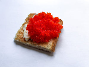 "Flying Fish Roe ""Red"" (Tobiko) 1.0 lbs/pk"
