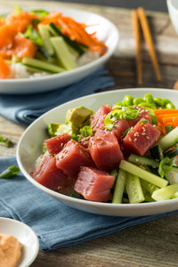Recipe- Tuna Ahi Poke Bowl