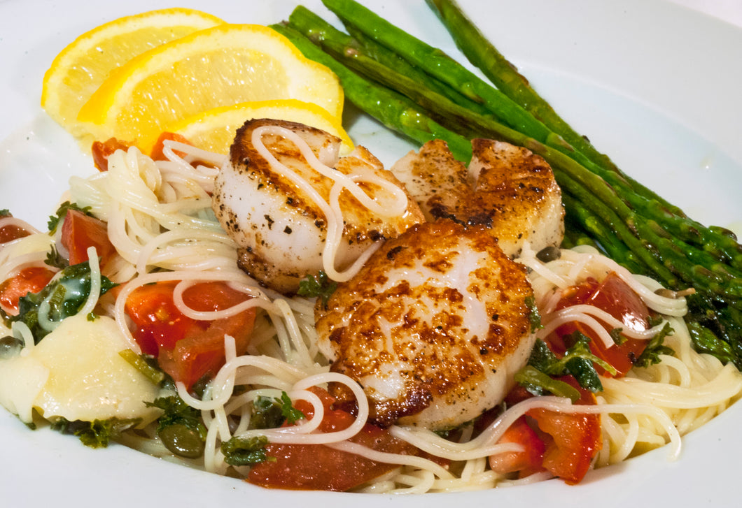 Recipe- Lemon Butter Seared Scallops