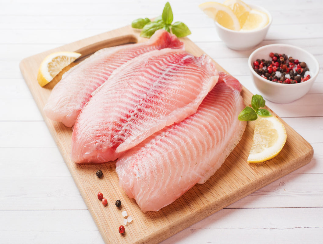 Tilapia 7-9 oz size (Frozen) 9oz/4pc/pk