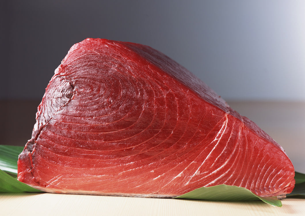Fresh Yellowfin Tuna Steak Cut (Sushi Quality) (Priced Per Pound)