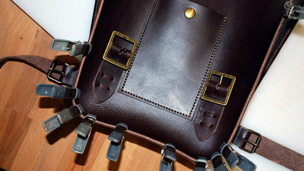 Saddle Bag for Three Gold Pacific