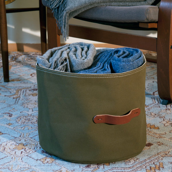 Canvas Storage Basket 13H x 15D