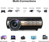 8500 Lumens Native 1080P Android 6.0 SLR WiFi Outdoor Home Theatre LED Projector