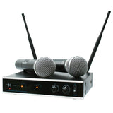 E-Lektron IU-2082HH Digital UHF 2 x Handheld Wireless Microphone System Set