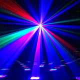 CR Drawing Star RGB 800W Full Color Laser Auto Sound DMX Single & Multi Patterns